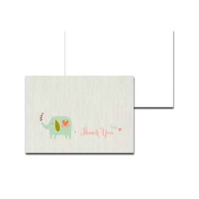 Aqua-Elephant-Baby-Shower-Thank-You-Card
