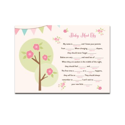 pretty-forst-baby-shower-baby-mad-libs