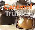 Caramel chocolate truffle collection