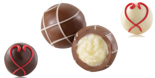 Center filled truffle chocolates to buy in India