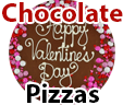 Unique chocolate gifts Chocolate pizzas online in India