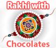 Send Rakhi/Raksha bandhan chocolate gifts to your brother online in India
