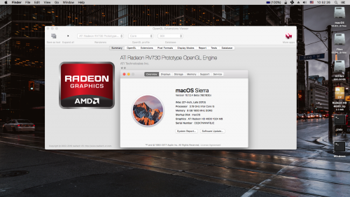 Screenshot for ATI Radeon HD 4650 for Sierra 10.12.4 beta 5 (16E183b)