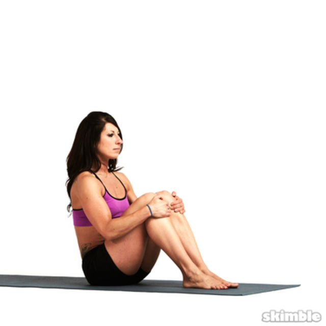 How to do: Boat Pose - Step 3