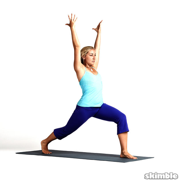 Left Crescent To Low Lunge Exercise How To Workout