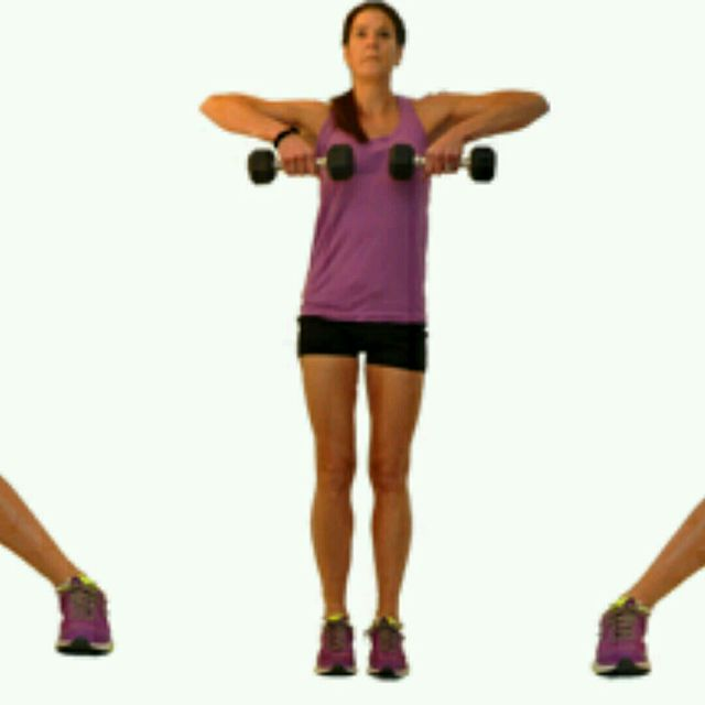 Resistance Bands Upright Row: Side Lunges With Upright Row