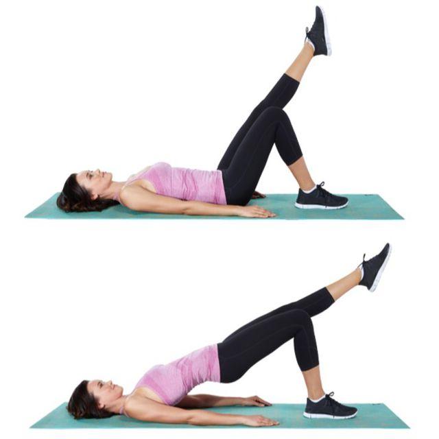 Single Leg Glite Bridge - Exercise How-to