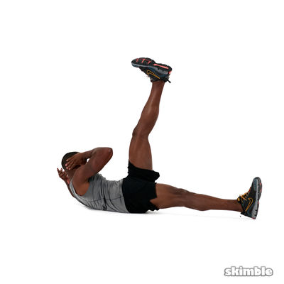 Straight Leg Bicycle Abs