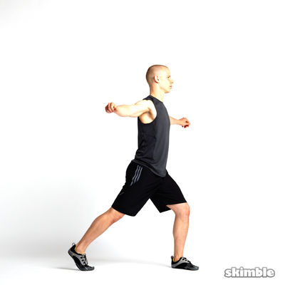 Rotating Lunges