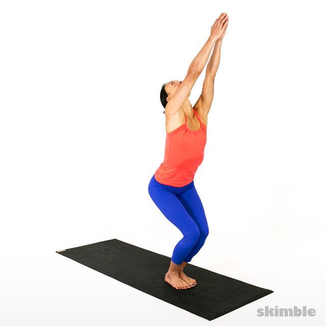 How to do: Advanced Sun Salutation - Step 2