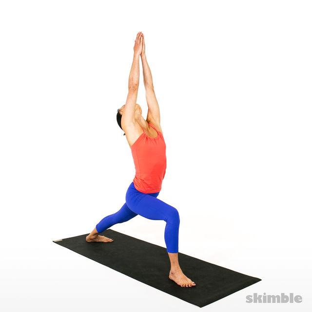 How to do: Advanced Sun Salutation - Step 8
