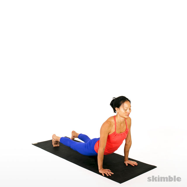 How to do: Advanced Sun Salutation - Step 11