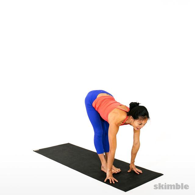 How to do: Advanced Sun Salutation - Step 17