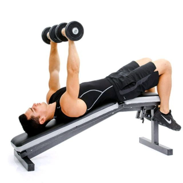 How Does The Dumbbell Bench Press Work The Chest Since Manual Guide