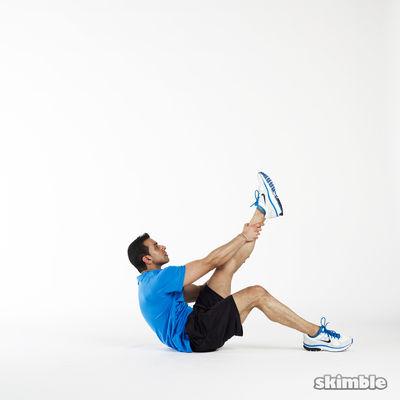 12 Left Leg Climbs