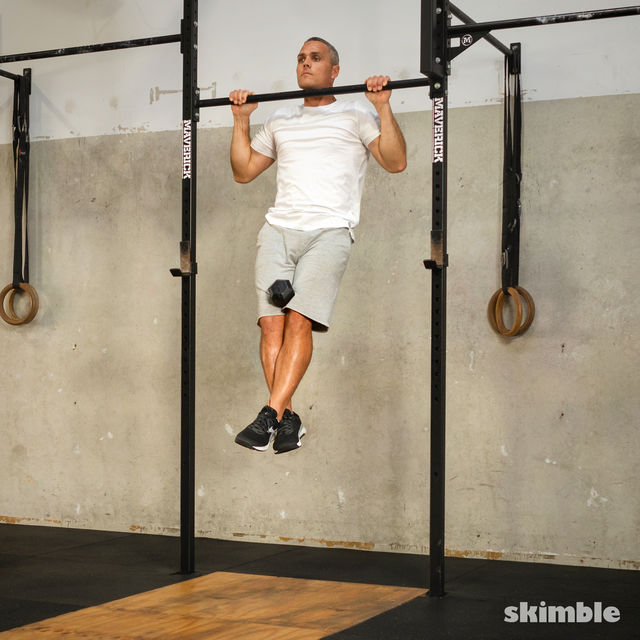 How to do: Weighted Pull-Ups - Step 3