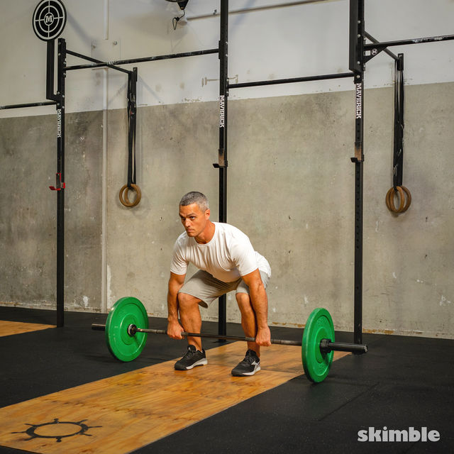 How to do: Thrusters - Step 2