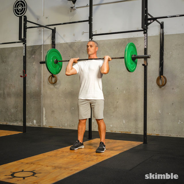 How to do: Thrusters - Step 3