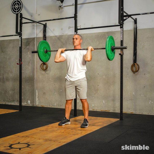 How to do: Thrusters - Step 6