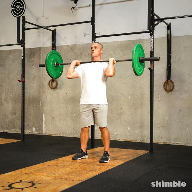 How to do: Split Jerk - Step 3