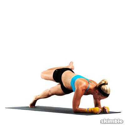 Full Scorpion Elbow Plank