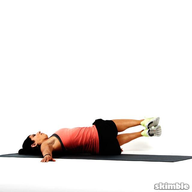 How to do: Bent Knee Twists - Step 2
