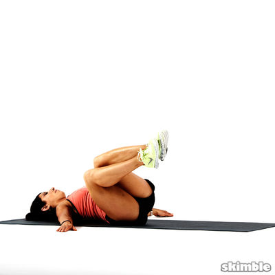 10 Bent Knee Twists