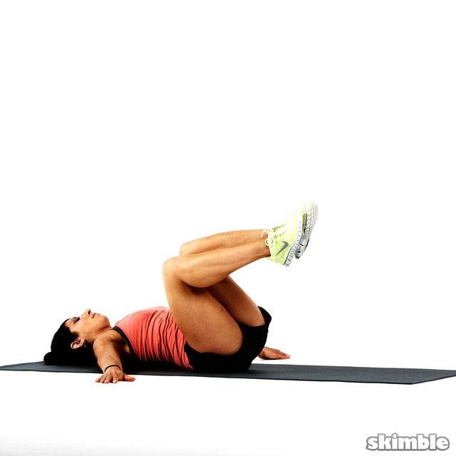 How to do: Bent Knee Twists - Step 7