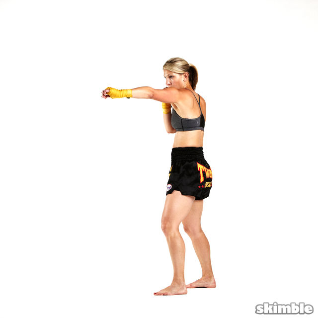 How to do: 1 2 Burpees - Step 5