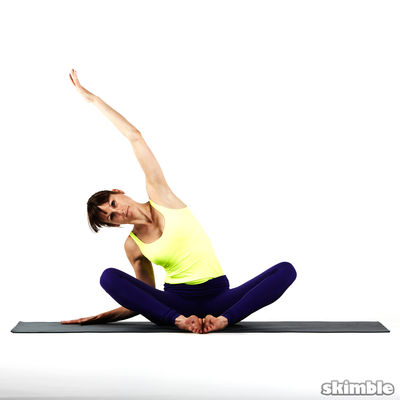 Seated Side & Neck Stretches