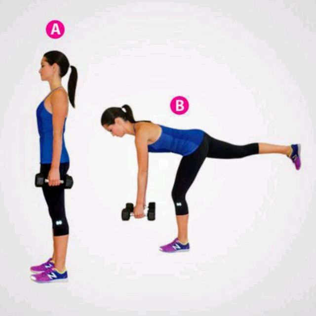 Band RDL, Single Leg - Exercise How-to - Workout Trainer