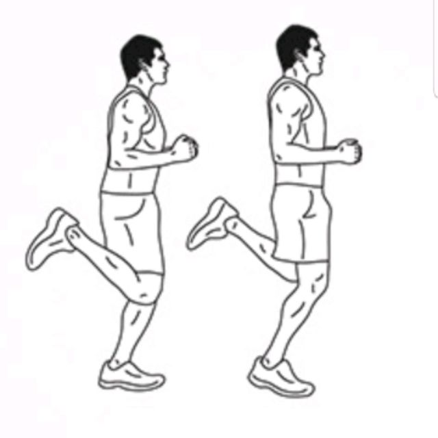 Butt Kicks - Exercise How-to - Workout Trainer by Skimble