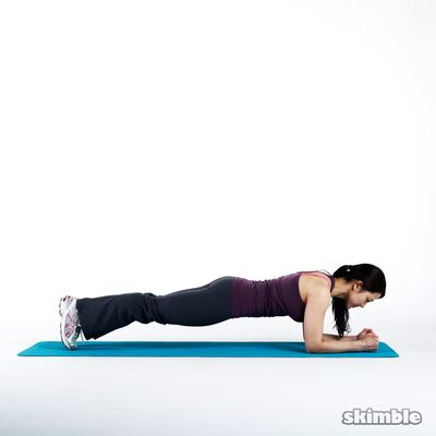 Elbow Plank Lateral Walk
