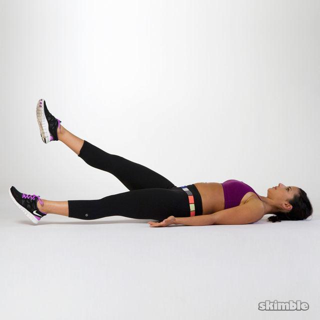 How to do: Flutter Kicks - Step 3