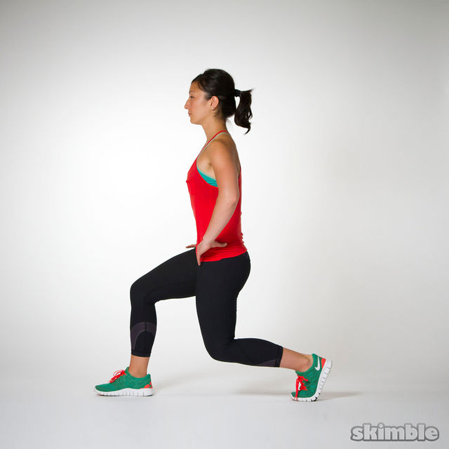 Split Squats - Exercise How-to - Workout Trainer by Skimble
