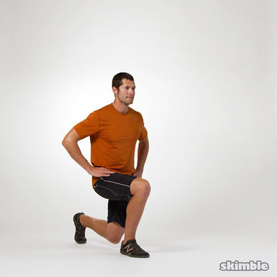 Lunges with Knee Lifts