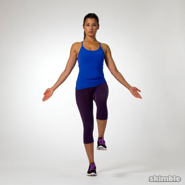 One Legged Balance Test - Free Workout - Workout Trainer ...