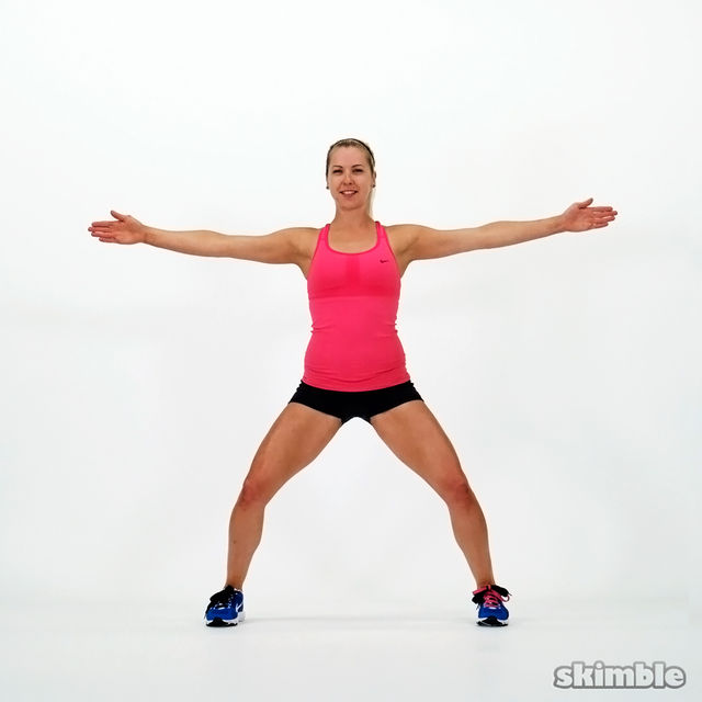 Tight Thighs And Bum - Member Workout by - Workout Trainer ...