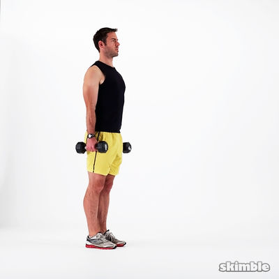 25 Dumbbell Lunges