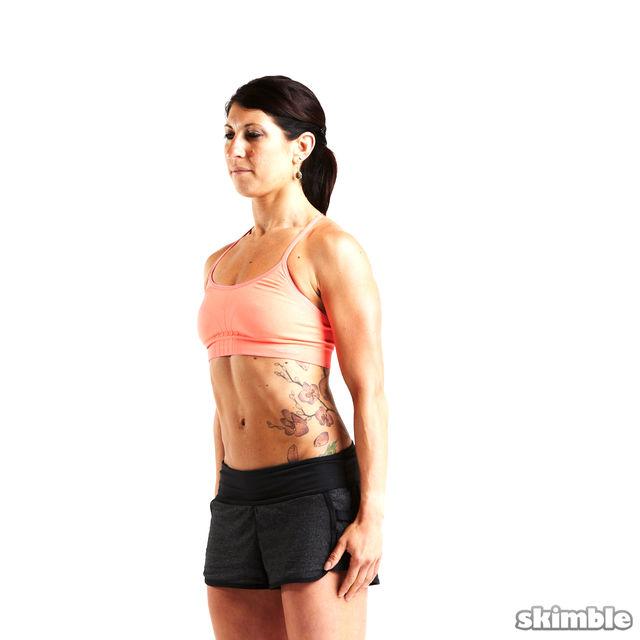 How to do: Backward Shoulder Rolls - Step 6