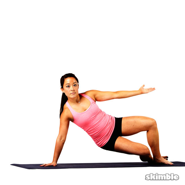 Pilates Right Side Bends