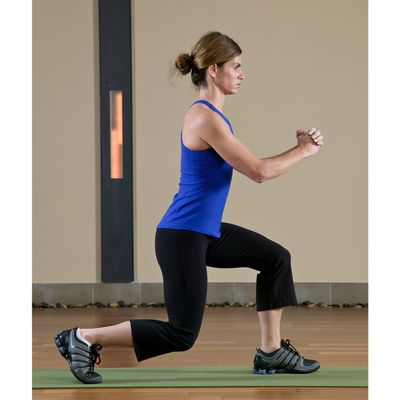 16 Reverse Lunges