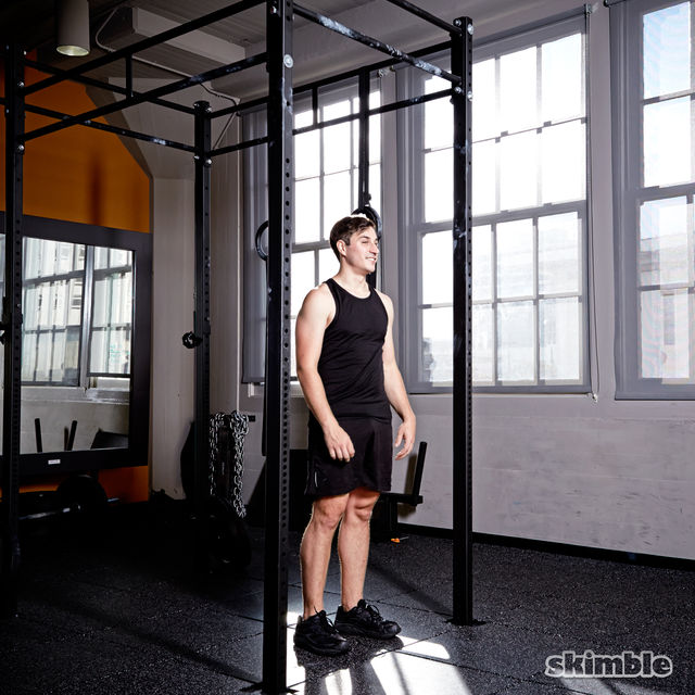 How to do: Burpee Pull-Ups - Step 1