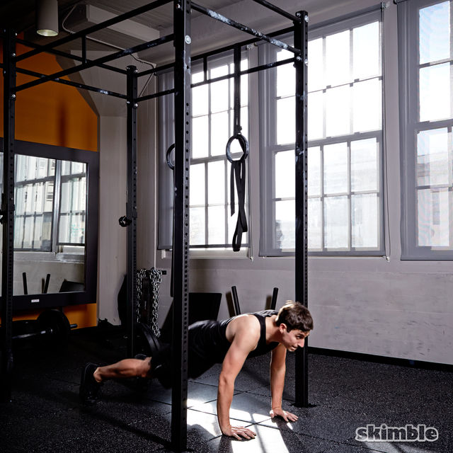 How to do: Burpee Pull-Ups - Step 3