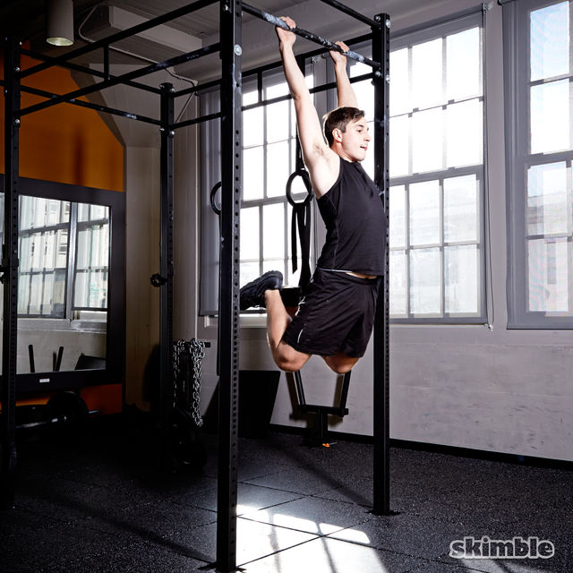 How to do: Burpee Pull-Ups - Step 7