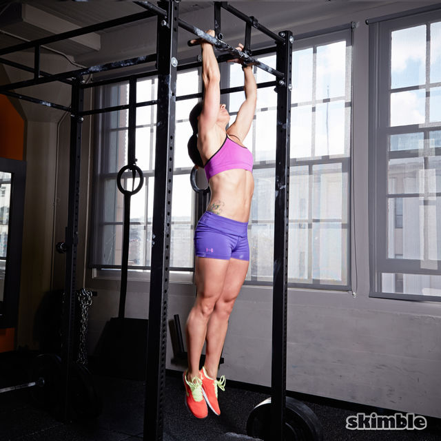 How to do: Neutral Grip Hang - Step 1