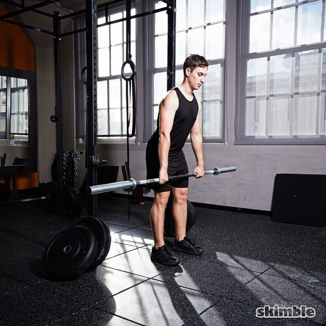 How to do: Barbell Front Loaded Squats - Step 7