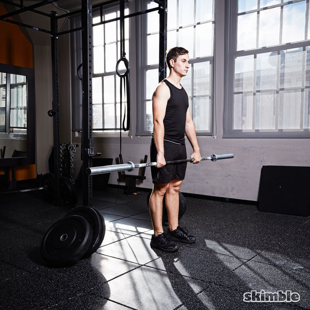 How to do: Barbell Front Loaded Squats - Step 3