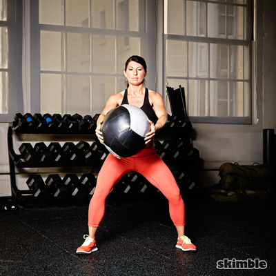 Medicine Ball Chest Pass
