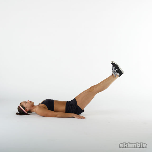 Leg Lifts Exercise How To Workout Trainer By Skimble